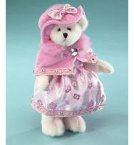 "Boyds 8吋粉紅色寶石泰迪熊 ""Rosa Gembeary"""