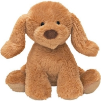 Gund Animal Chatter Dog Beige 4""