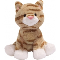 Gund  Animal Chatter Cat Brown 4""