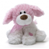 Gund Lil' Smoocher Dog Sound Toy 5""