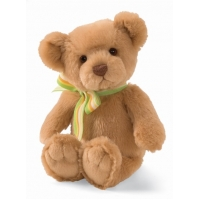Gund Just Because Teddy Bear Sound Toy Beige 7""