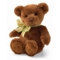 Gund Just Because Teddy Bear Sound Toy Brown 7""
