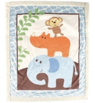 Luvable Friends Sherpa Baby  Blanket