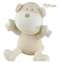 Eotton 100%有機棉可愛小狗玩具