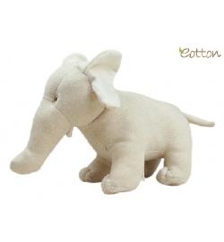 Eotton 100%有機棉可愛小象玩具