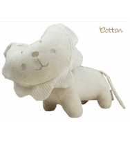 Eotton 100%有機棉可愛獅子玩具