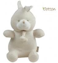Eotton 100%有機棉可愛小免玩具